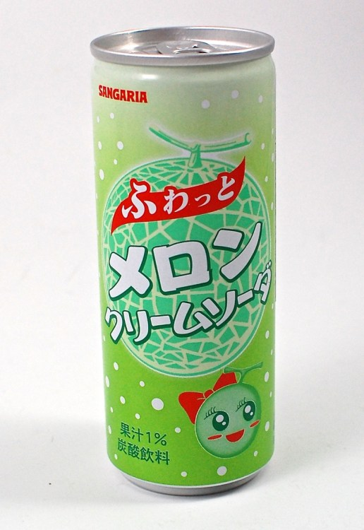 creamy melon soda