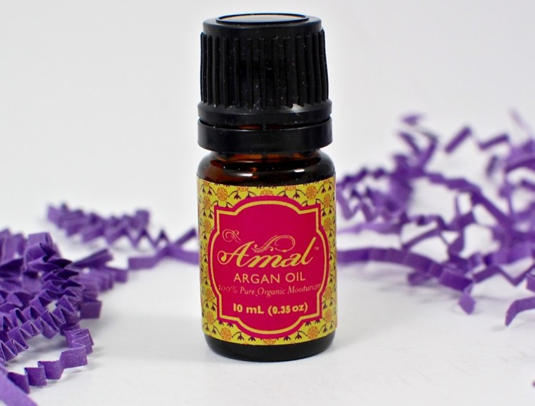 Amal's argan oil