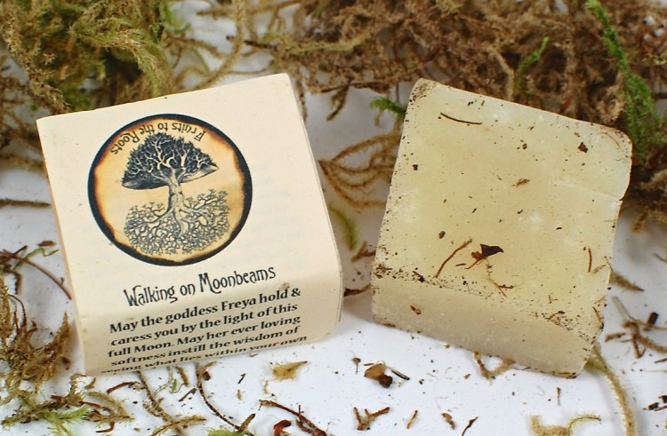 Walking on Moonbeams soap