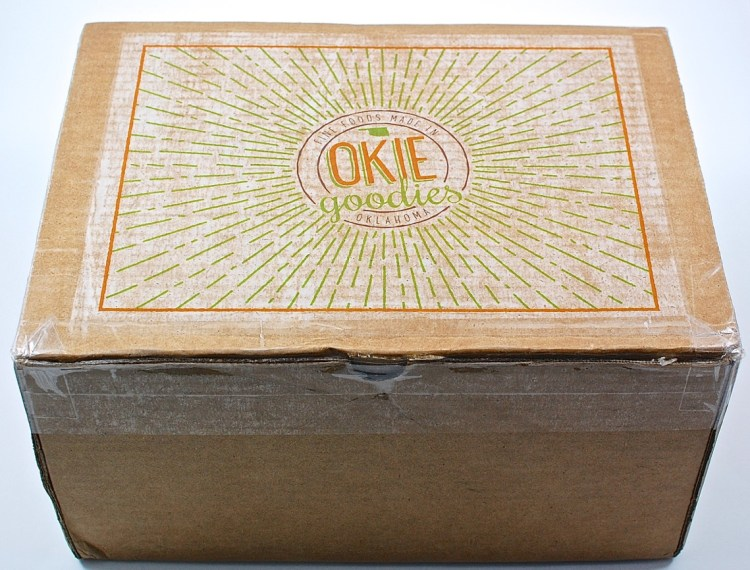 Okie Goodies box