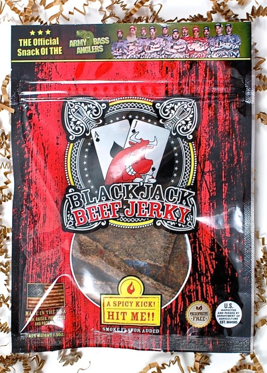 Blackjack beef jerky