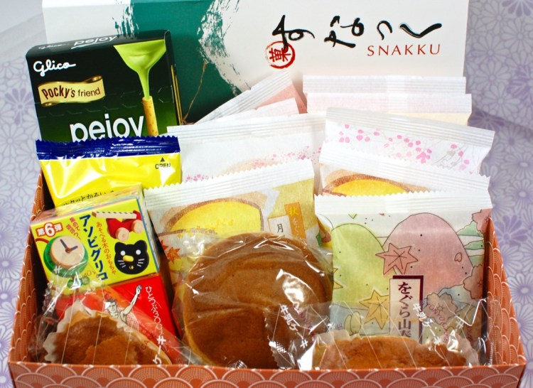 Snakku September 2015 Japanese Snack Box Review