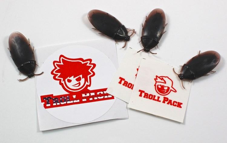Troll Pack roaches