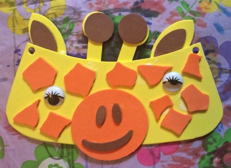 giraffe visor