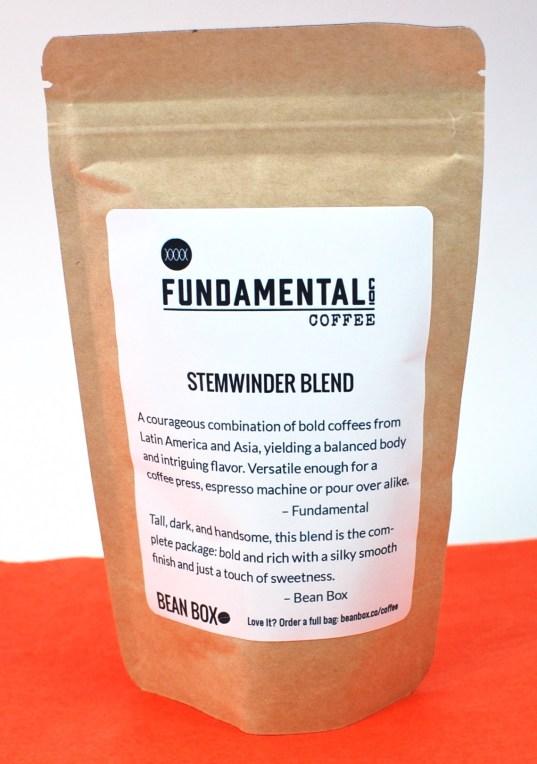 Fundamental coffee