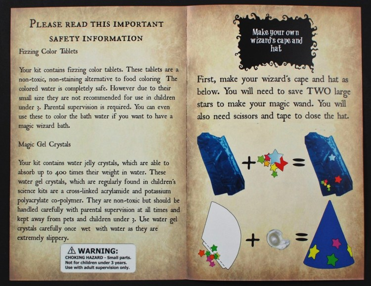 wizard's book