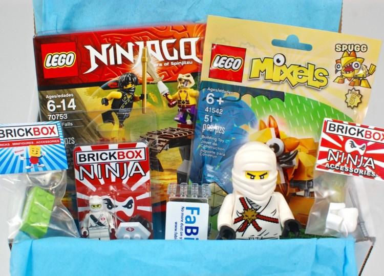 BRICKBOX September 2015 Brick/Lego Subscription Box Review