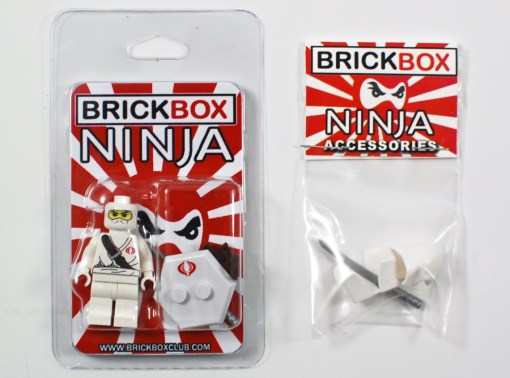 Brickbox ninja figure