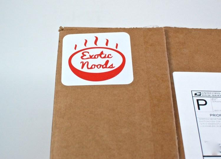 Exotic Noods box