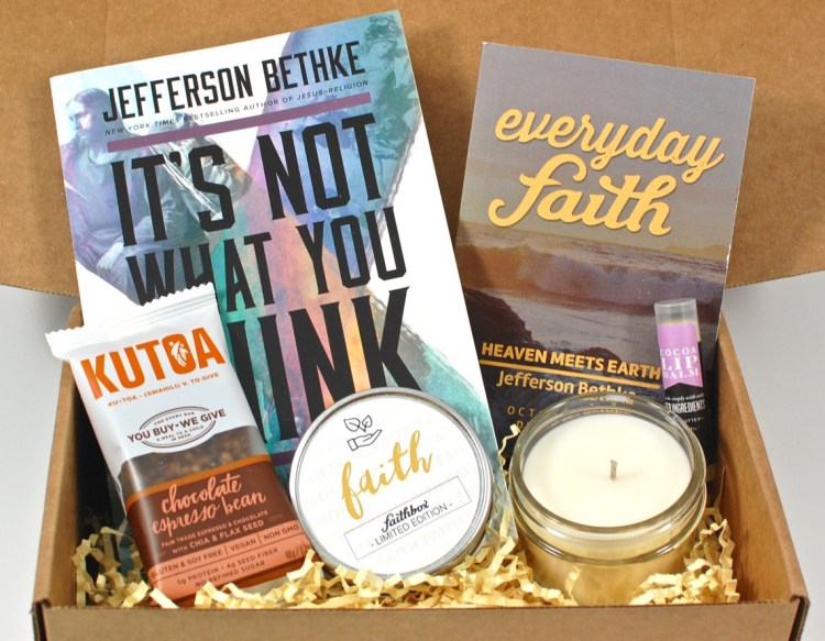 Faithbox October 2015 Review & Coupon Code