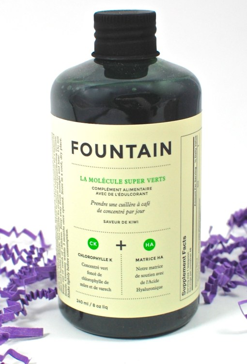 Fountain supplement