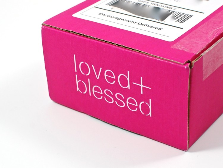Loved + Blessed box