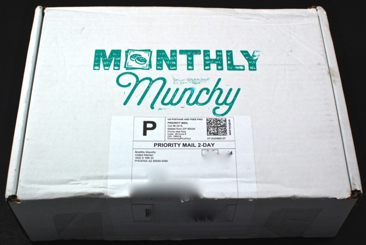 Monthly Munchy box