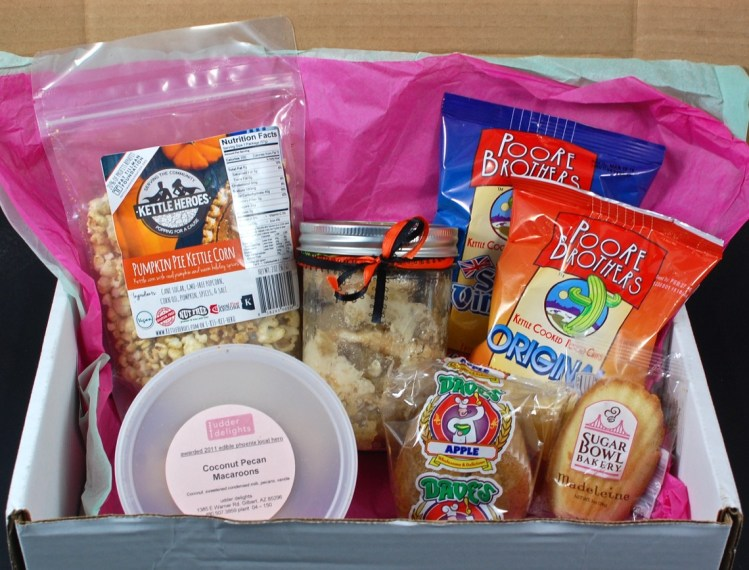 Monthly Munchy October 2015 Review + 1st Box 50% Off