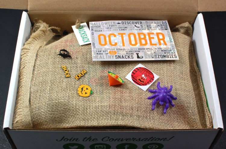 Snack Sack October