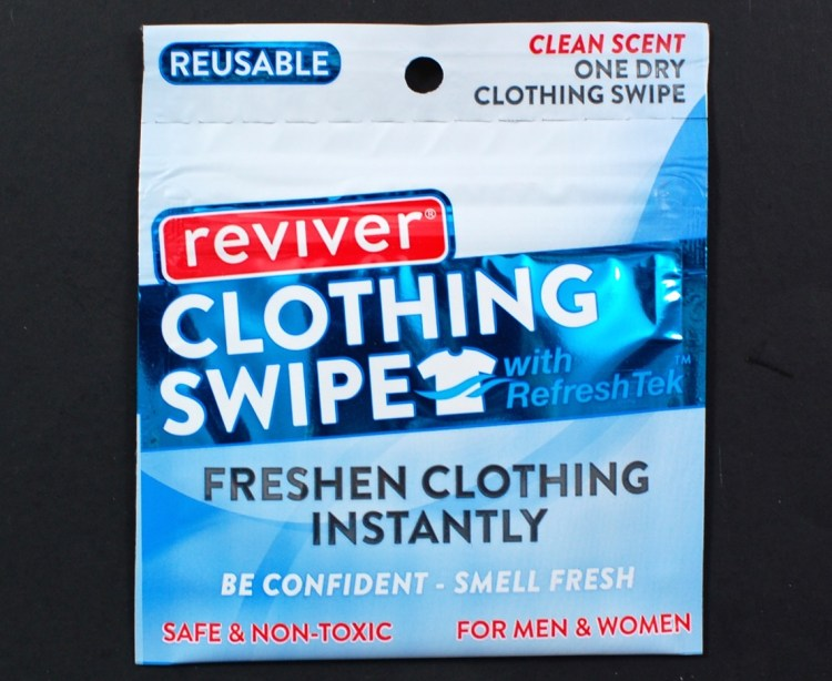 Reviver clothing swipe