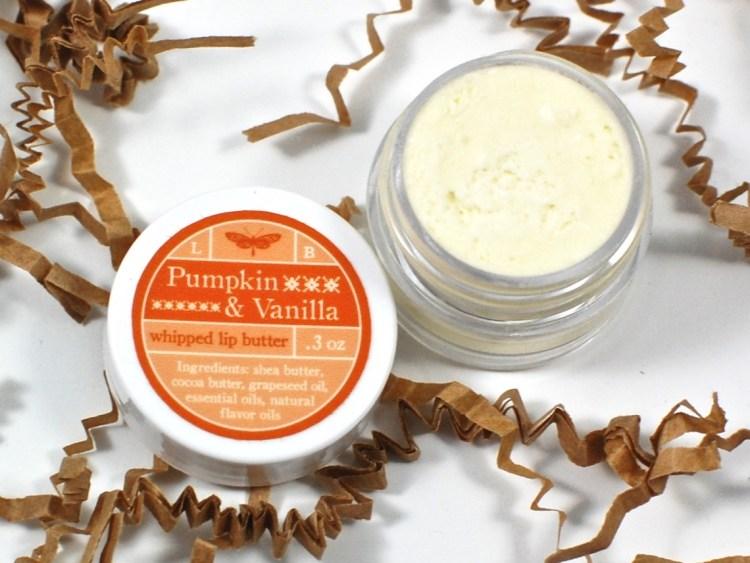 pumpkin vanilla lip cream