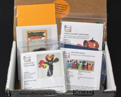 November 2015 Box of Crafts review