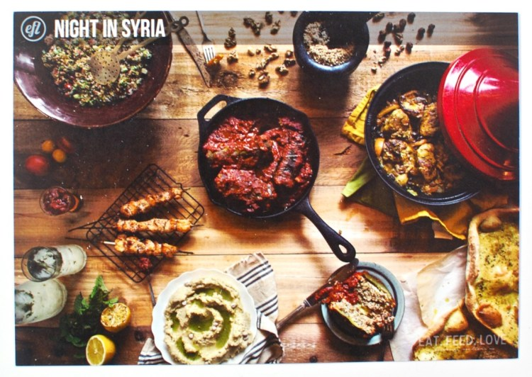 Eat Feed Love Syria box