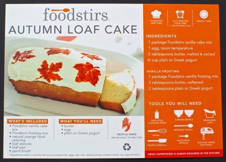 Foodstirs autumn cake