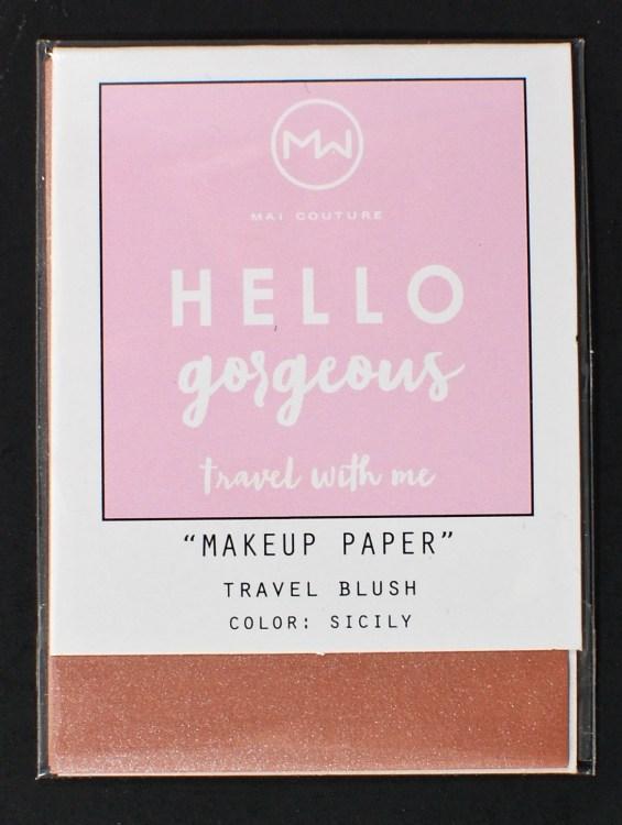 makeup paper ipsy