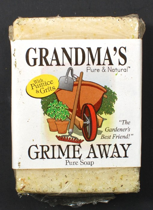 Grandma's grime away soap