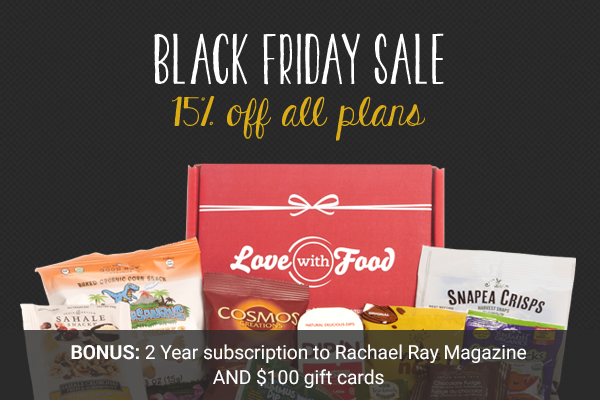 Love with food black friday
