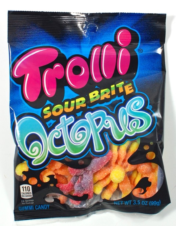 trolli gummy octopus