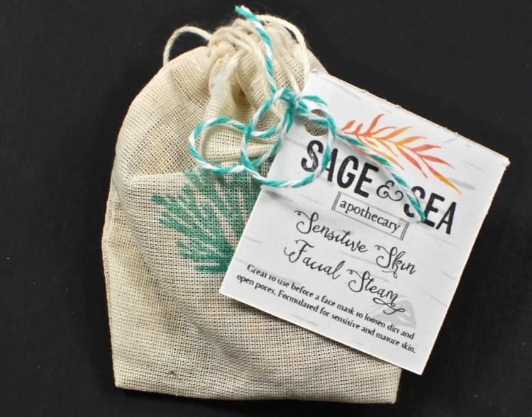 sage and sea facial steam