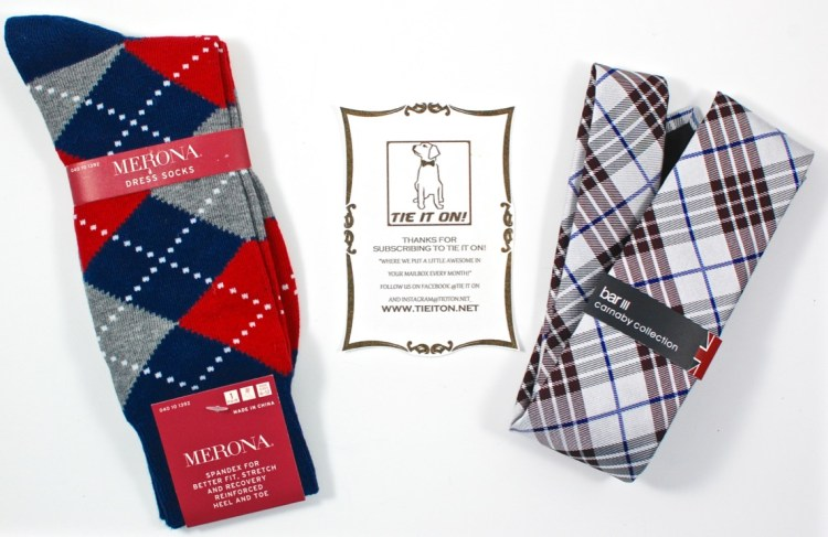 Tie it On! October 2015 Men's Subscription Box Review & Coupon Code