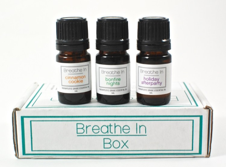 Breathe in Box November 2015 Review & Coupon Code