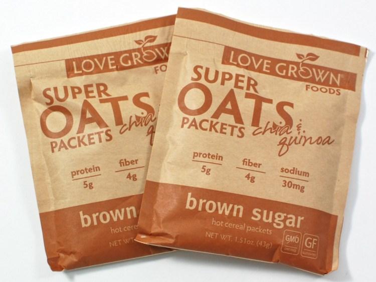 Love Grown Foods oatmeal