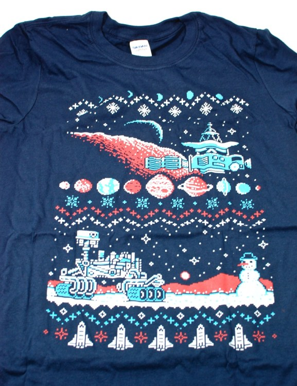 Loot Crate ugly sweater tshirt