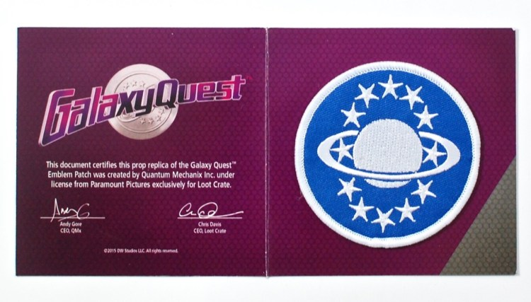 galaxy quest patch
