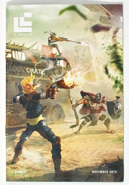 Loot Crate November 2015 Combat