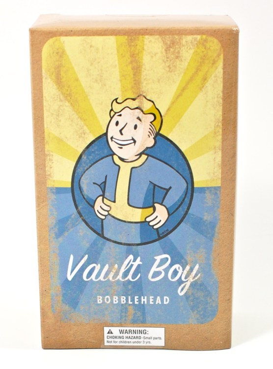 Vault Boy bobble head