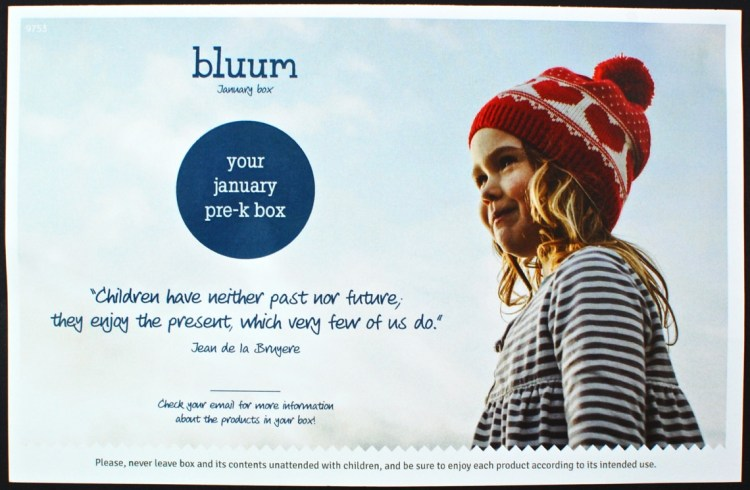 January 2016 bluum review