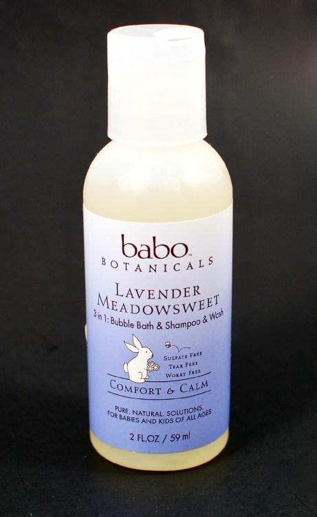 Babo Botanicals lavender wash
