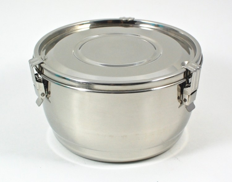 Onyx stainless steel bowl