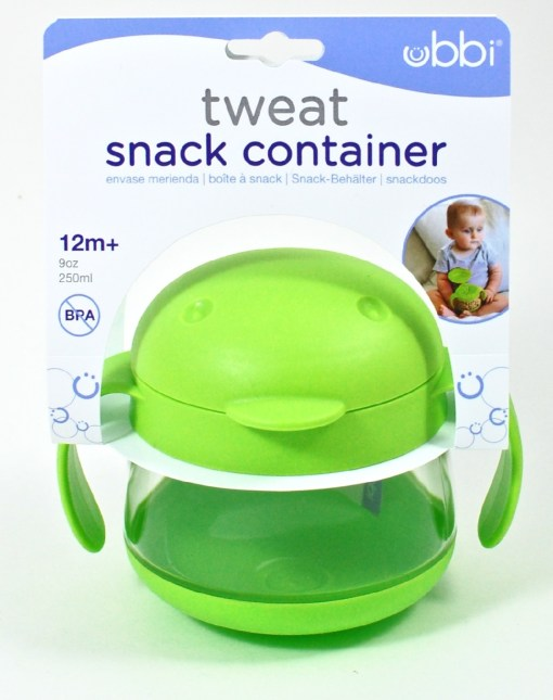 Ubbi Tweat snack container