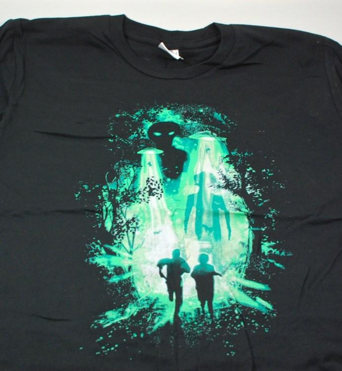 Loot Crate X-files shirt