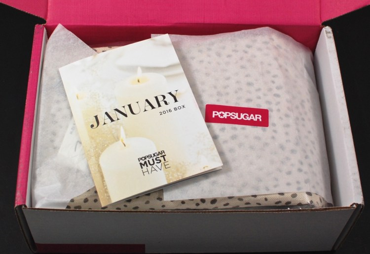 January 2016 POPSUGAR Must Have box