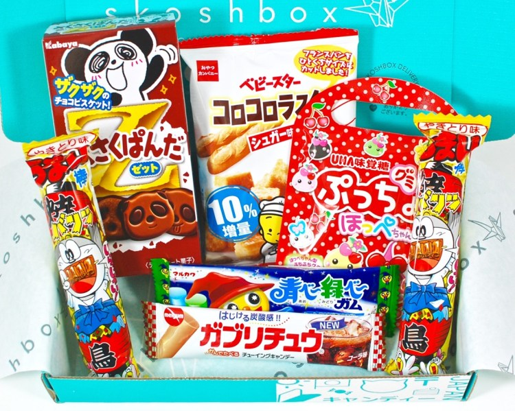 Skoshbox January 2016 Japanese Snack Box Review & Coupon Code