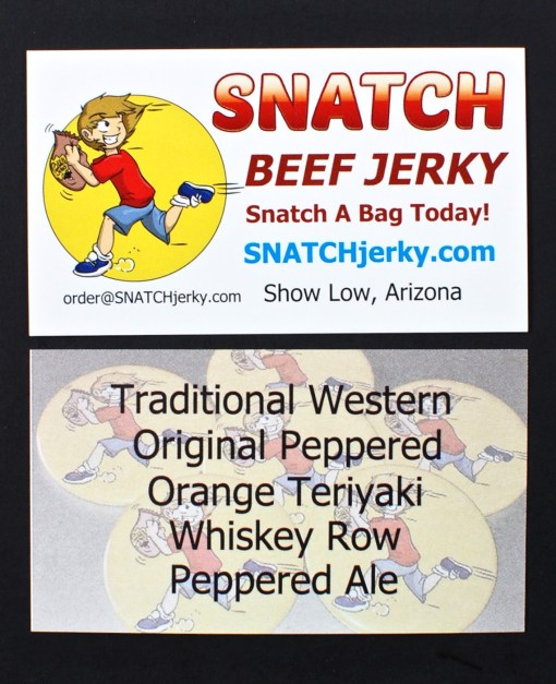 SNATCH Beef Jerky subscription