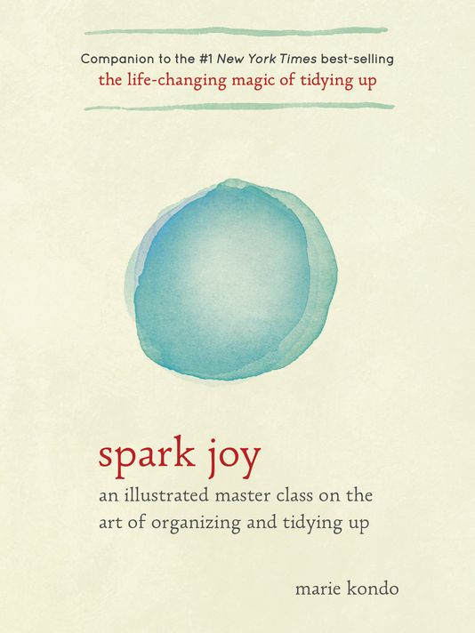 spark joy book