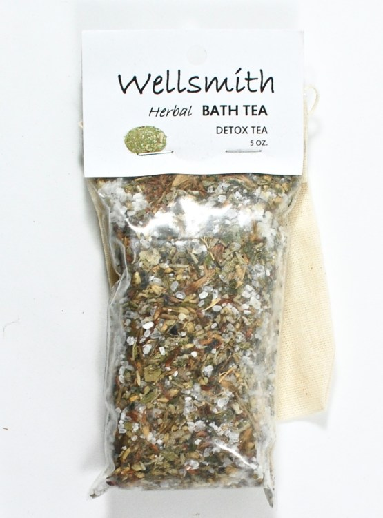 Wellsmith detox bath tea
