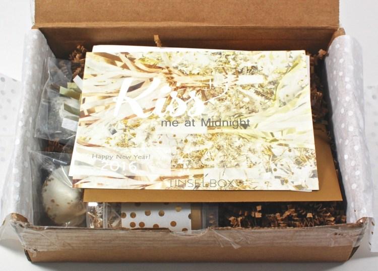 Tinsel Box January 2016