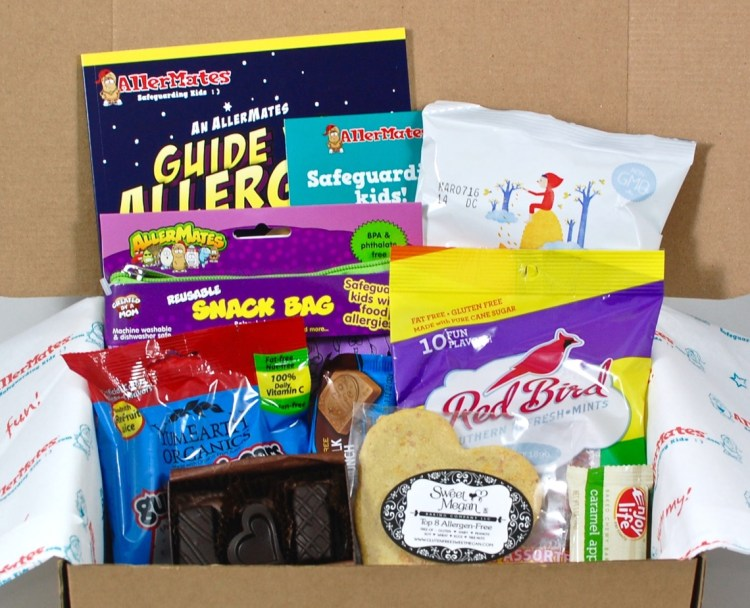 AllerMates Goodie Box February 2016 Review