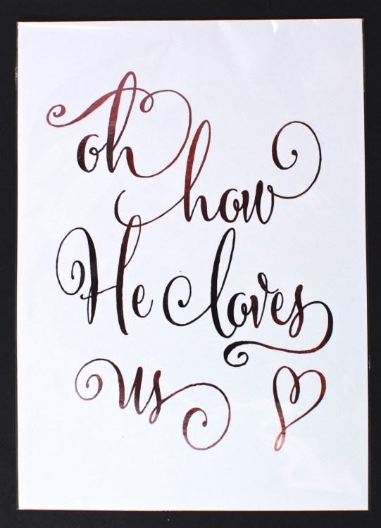 love print