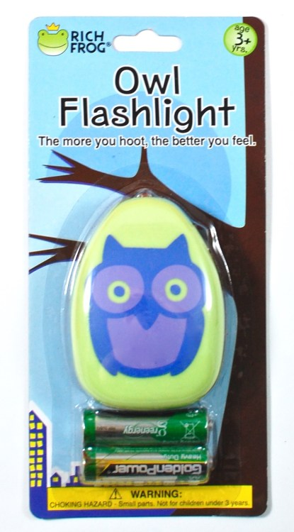 owl flashlight